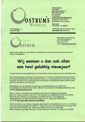 Oostrum's Weekblad 2006