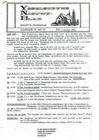 Ysselsteyns Nieuwsblad 1990-10-05