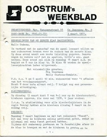 Oostrum's Weekblad 1977-03-03
