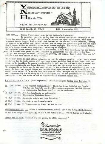 Ysselsteyns Nieuwsblad 1991-09-06