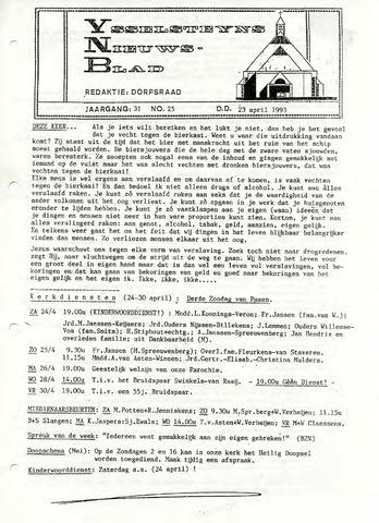 Ysselsteyns Nieuwsblad 1993-04-23