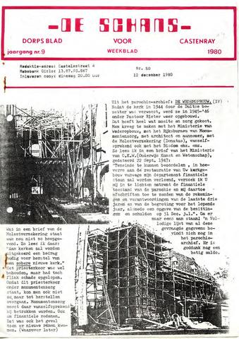 Castenrays dorpsblad De Schans 1980-12-12