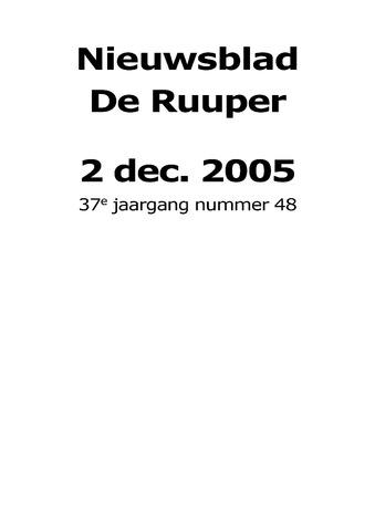 Dorpsblad Leunen-Veulen-Heide 2005-12-02