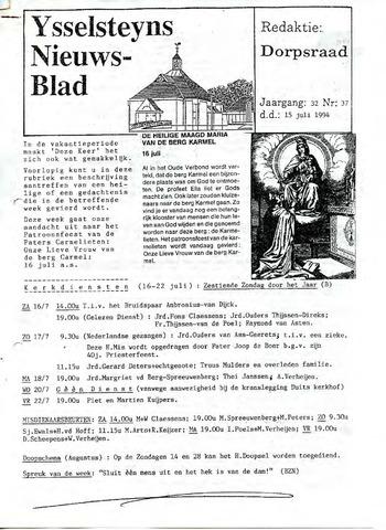 Ysselsteyns Nieuwsblad 1994-07-15