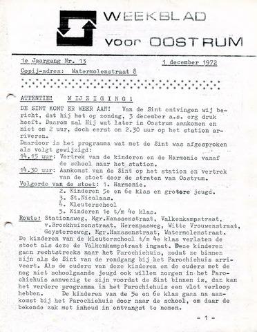 Oostrum's Weekblad 1972-12-01