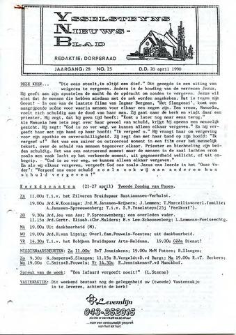 Ysselsteyns Nieuwsblad 1990-04-20