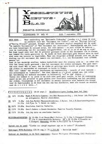 Ysselsteyns Nieuwsblad 1990-09-07