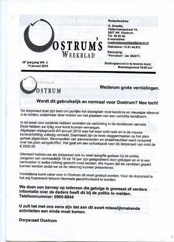 Oostrum's Weekblad 2010-01-14