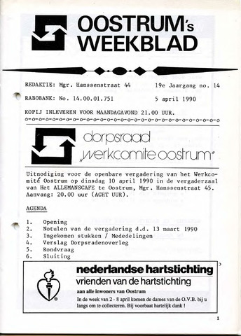 Oostrum's Weekblad 1990-04-05