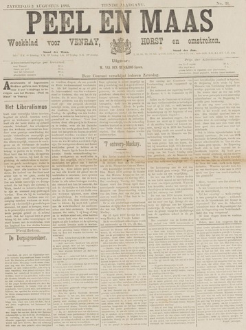 Peel en Maas 1889-08-03