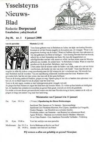 Ysselsteyns Nieuwsblad 2008