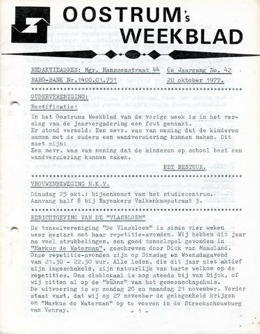 Oostrum's Weekblad 1977-10-20
