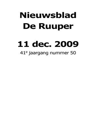 Dorpsblad Leunen-Veulen-Heide 2009-12-11