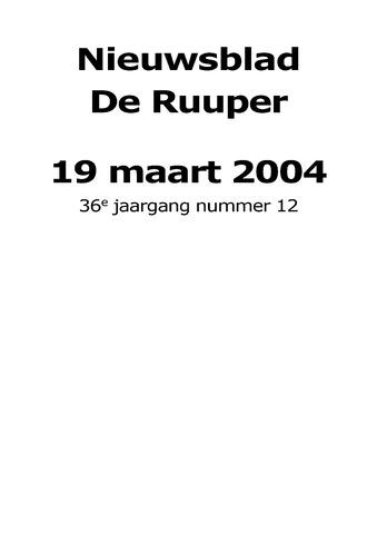 Dorpsblad Leunen-Veulen-Heide 2004-03-19