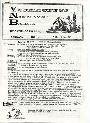 Ysselsteyns Nieuwsblad 1987-07-10