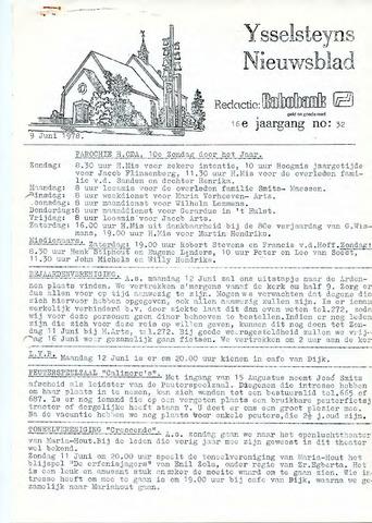 Ysselsteyns Nieuwsblad 1978-06-09