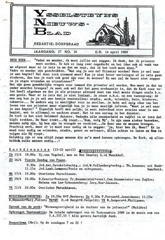 Ysselsteyns Nieuwsblad 1989-04-14