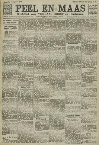 Peel en Maas 1934-08-04