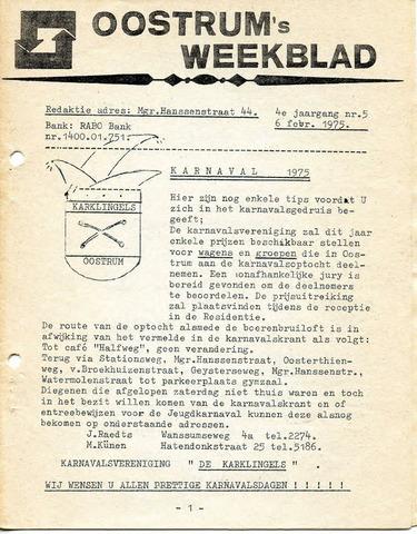 Oostrum's Weekblad 1975-02-06