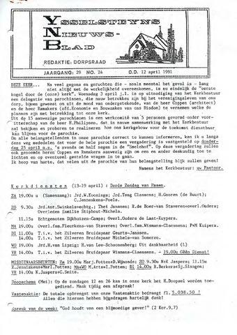 Ysselsteyns Nieuwsblad 1991-04-12