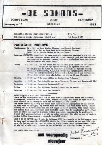 Castenrays dorpsblad De Schans 1983-12-30