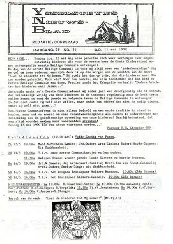 Ysselsteyns Nieuwsblad 1990-05-11