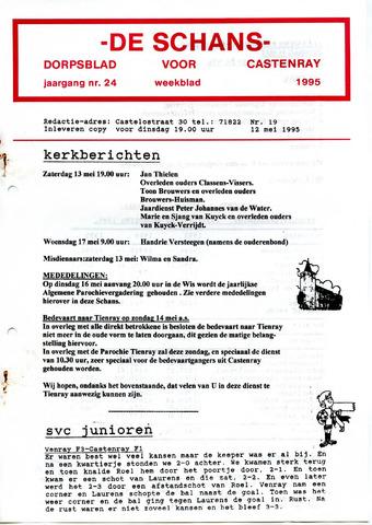 Castenrays dorpsblad De Schans 1995-05-12
