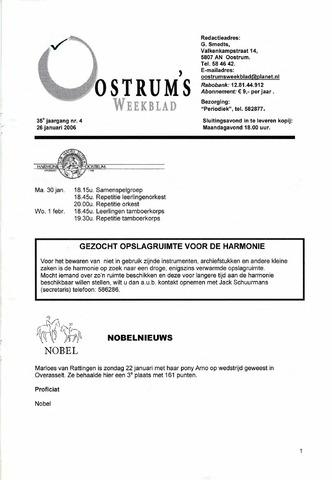 Oostrum's Weekblad 2006-01-26