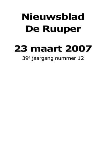Dorpsblad Leunen-Veulen-Heide 2007-03-23