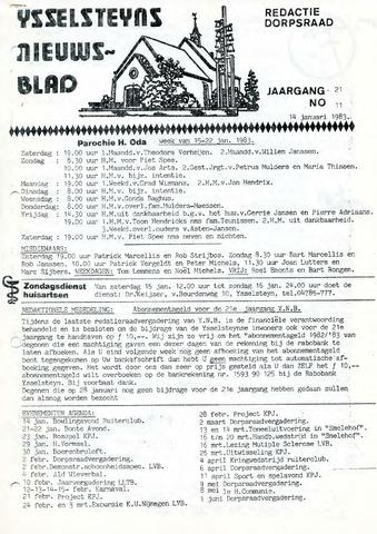 Ysselsteyns Nieuwsblad 1983-01-14