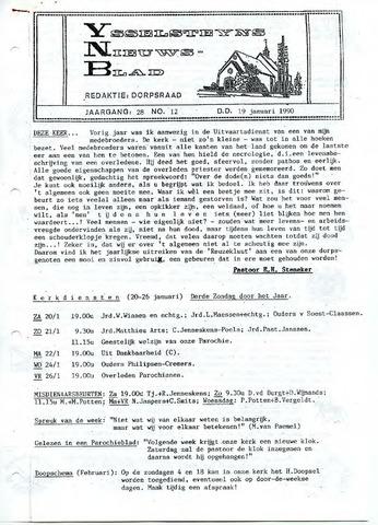 Ysselsteyns Nieuwsblad 1990-01-19