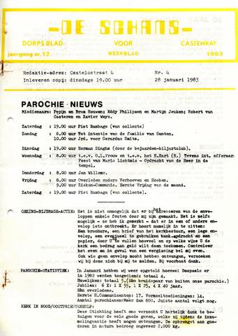 Castenrays dorpsblad De Schans 1983-01-28