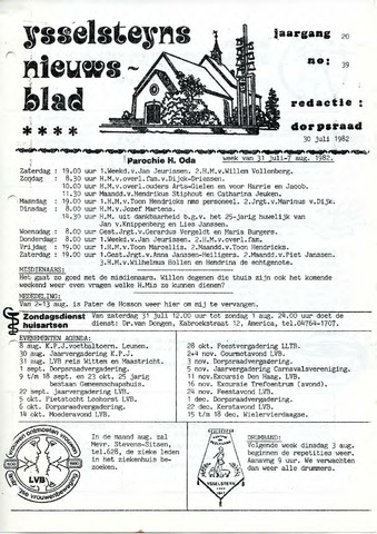 Ysselsteyns Nieuwsblad 1982-07-30