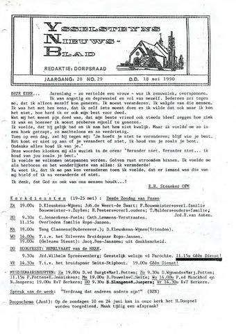 Ysselsteyns Nieuwsblad 1990-05-18