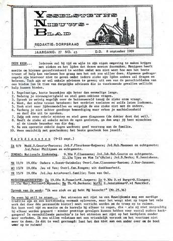 Ysselsteyns Nieuwsblad 1989-09-08