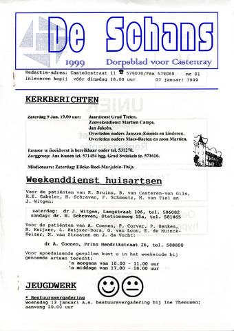 Castenrays dorpsblad De Schans 1999