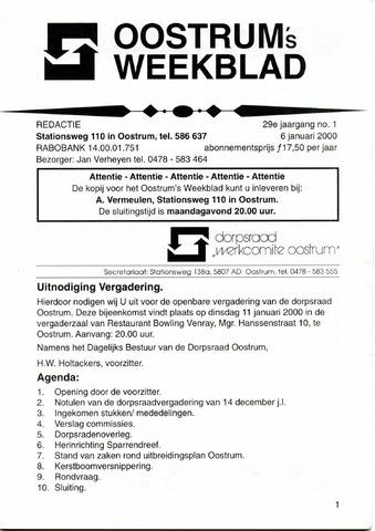 Oostrum's Weekblad 2000