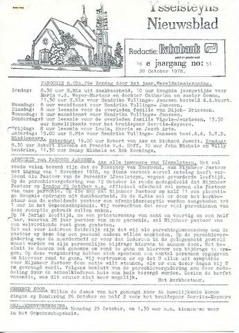 Ysselsteyns Nieuwsblad 1978-10-20
