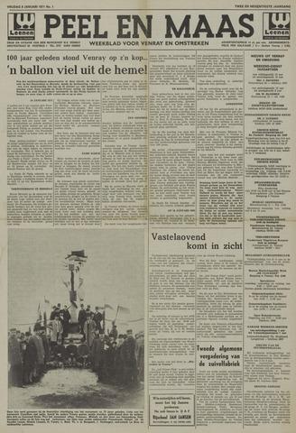 Peel en Maas 1971-01-08
