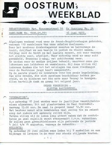 Oostrum's Weekblad 1977-06-16