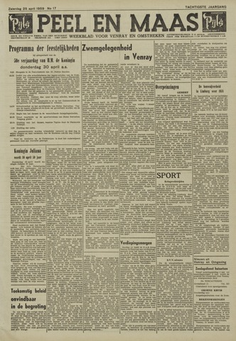 Peel en Maas 1959-04-25