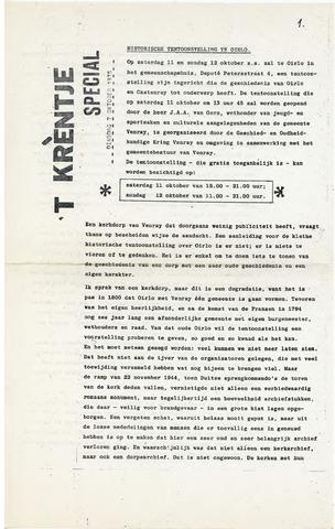 Oirlo's dorpsblad 't Krèntje 1975-10-07