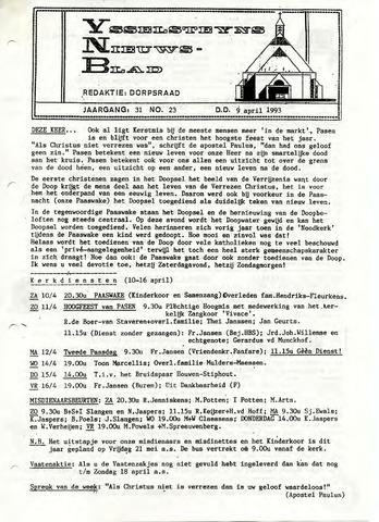 Ysselsteyns Nieuwsblad 1993-04-09