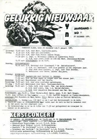 Ysselsteyns Nieuwsblad 1984-12-28