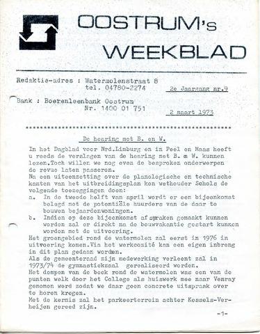 Oostrum's Weekblad 1973-03-02