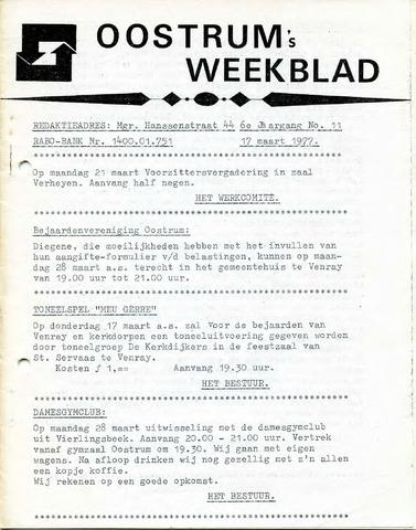 Oostrum's Weekblad 1977-03-17