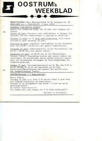 Oostrum's Weekblad 1979-06-07