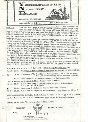 Ysselsteyns Nieuwsblad 1990-02-02