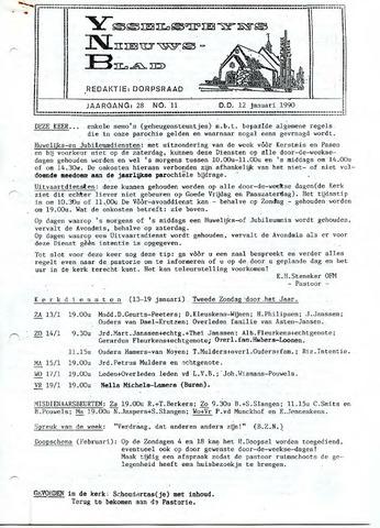 Ysselsteyns Nieuwsblad 1990-01-12