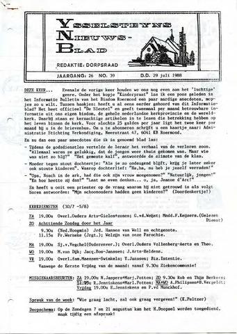 Ysselsteyns Nieuwsblad 1988-07-29